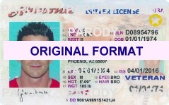 Arizona Driver License scannable fake id fake identity fake driver license Arizona Novelty Arizon new identity