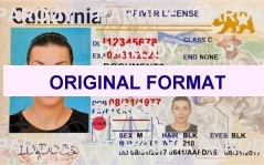 California new identity software cards Driver License scannable fake id fake identity fake driver license California