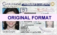 CONNECTICUT  DRIVER LICENSE CONNECTICUT FAKE ID CARD SCANNABLE CONNECTICUT FAKE ID