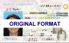 NORTH CAROLINA FAKE IDS SCANNABLE FAKE NORTH CAROLINA ID WITH HOLOGRAMS