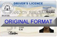 Western Australia fake driver license scannable fake new identity with security holograms